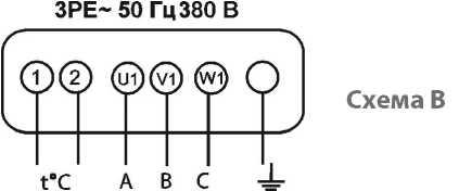 Электрическая схема подключения вентиляторов ВКК